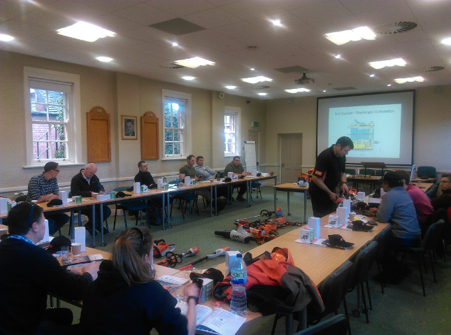 Stihl tool maintenance training day